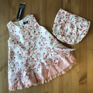 🌸HP🌸 Jean Bourget NWT Lay Ed Spe Fille dress